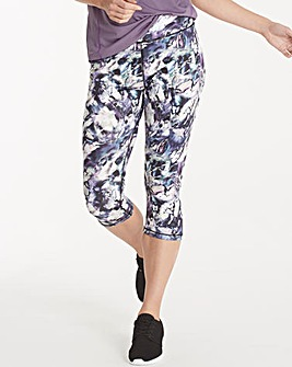 Performance Printed Capri Legging