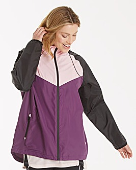 Sports Hooded Shower Proof Jacket