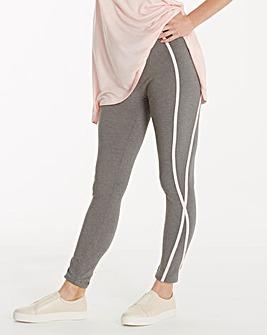 Leisure Legging with Pink Detail