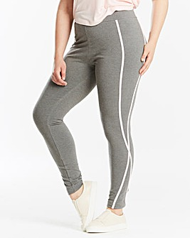 Leisure Legging with Pink Detail