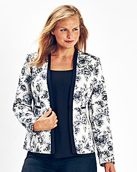 Ava By Mark Heyes Floral Print Jacket