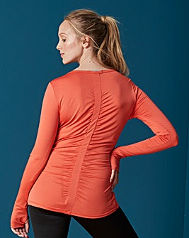 Sports Rouched Top