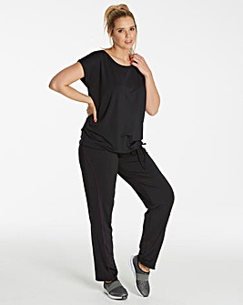 Contrast Performance Pant