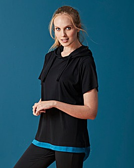 Dipped Hem Yoga Top