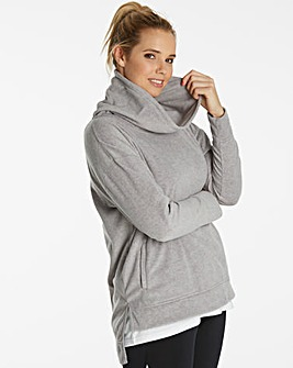 Sports Cowl Neck Fleece