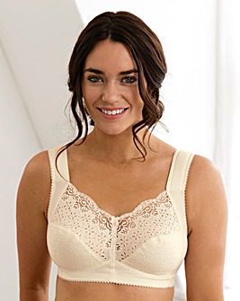 Miss Mary Cotton Non Wired Bra Champagne