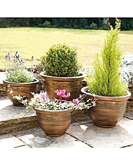 Classic Style Planters Set of 4