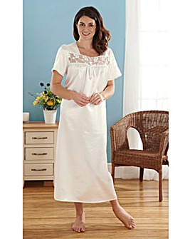 Satin Nightdress 44inch
