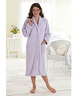 Fluffy Fleece Gown 42inch