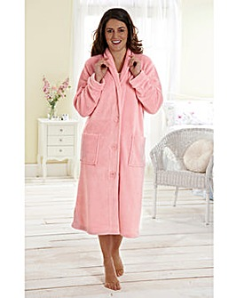 Fluffy Fleece Gown 42inch