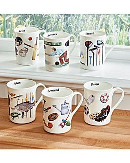 Interest Mugs Personalised