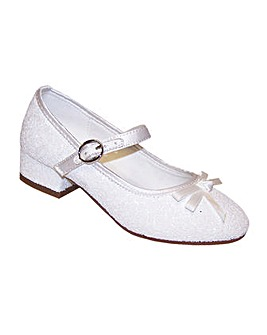 Sparkle Club White Glitter Shoes