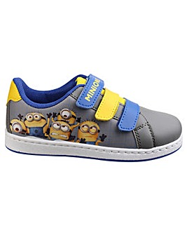 Minion Touch Fastening Boys Trainer