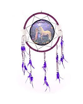 Unicorn Garden Medium Dreamcatcher