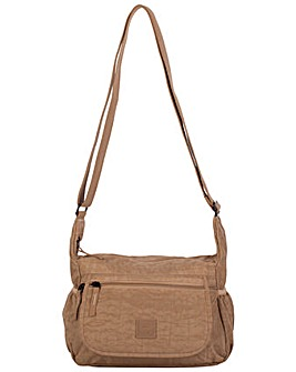 Artsac Single Strap Zip Top Shoulder Bag