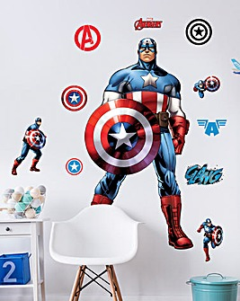 Marvel Captain America Character Sticker