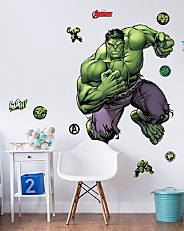 Marvel Hulk Large Character Room Sticker
