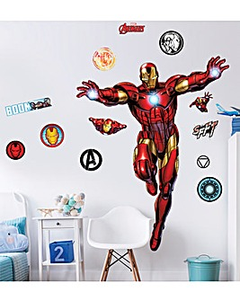 Marvel Iron Man Large Character Sticker