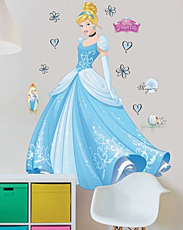 Disney Princess Cinderella Large Sticker