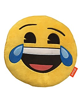 Emoji Shaped Cushion - Laughing