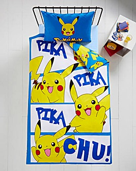 Pokemon Panel Personalised Duvet