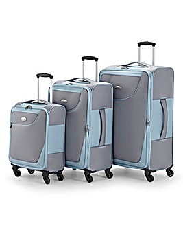 Three Piece Lightweight Luggage Set