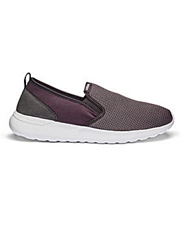 adidas Cloudfoam Lite Slip On Trainers