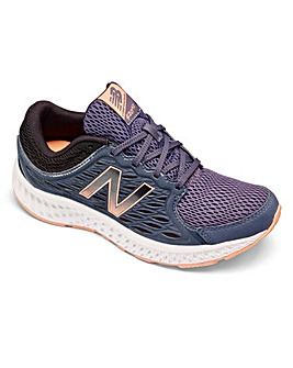 New Balance Lace Up Trainers Wide Fit