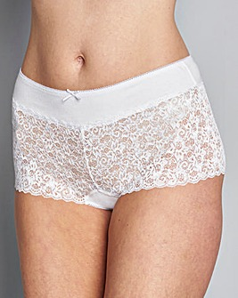 5 Pack Lace Black/White Shorts