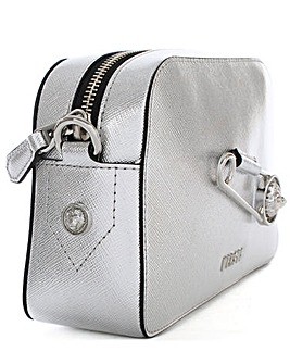 Versus Versace Silver Leather Cross-Body