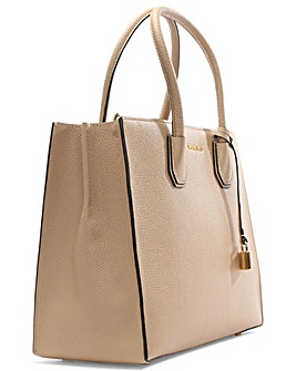Michael Kors Beige Large Satchel Bag