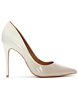 Moda In Pelle Ombre Patent Court Shoe