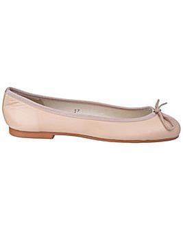 French Sole Henrietta Leather Ballerina