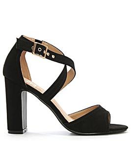 Daniel Lilibeth Asymmetric Strap Sandal