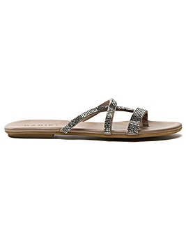 Daniel Crystallise Strappy Sandal