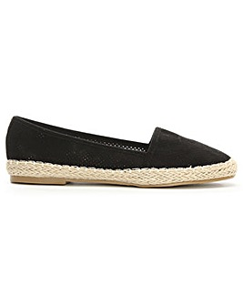 Daniel Lizeth Perforated Espadrille Pump