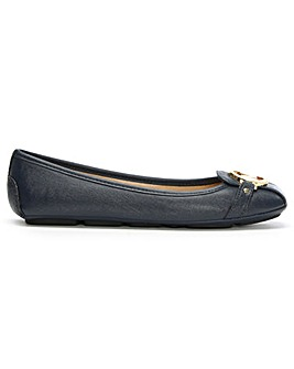 Michael Kors Saffiano Leather Moccasins