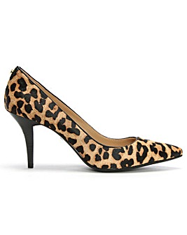 Michael Kors Calf Hair Mid Pointed Pump