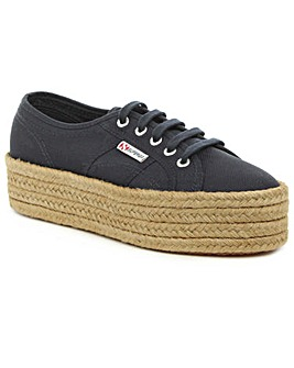 Superga Canvas Flatform Espadrille
