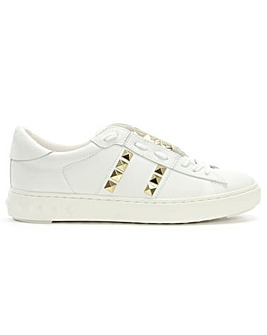 Ash Party Leather Studded Trainer