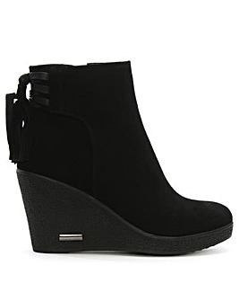 Daniel Tafiti Suede Wedge Boot