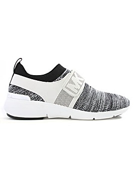 Michael Kors Knitted Sock Velcro Trainer
