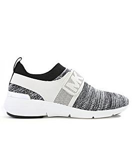 Michael Kors Knitted Sock Velcro Trainer
