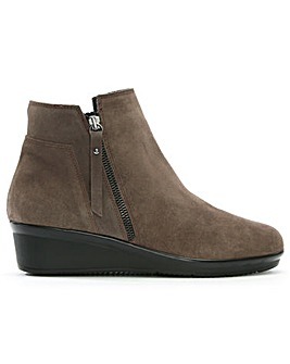 Daniel Lamone Low Wedge Ankle Boots