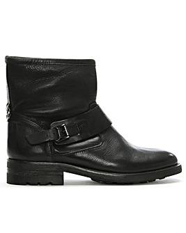 Hudson Mac Leather Biker Boots