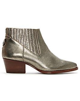 Hudson Ernest Western Ankle Boots