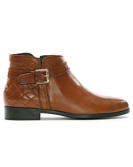 Daniel Piomba Quilted Ankle Boots