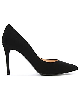 Daniel Affie Suede Pointed Court Shoes