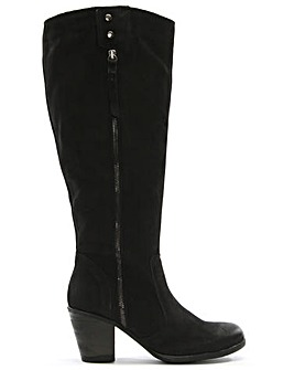 Daniel Chienti Leather Knee High Boots