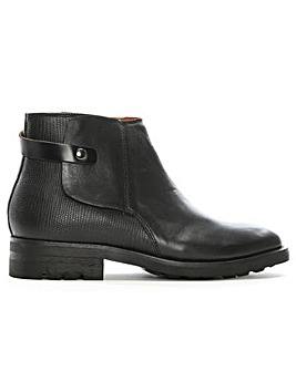 Hudson Vernon Leather Ankle Boots
